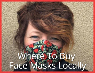 Locally Made Cloth Face Masks